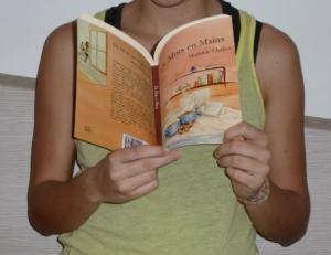 Mathilde Chabot roman De mots en mains