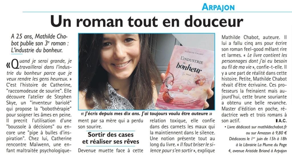 Article de journal Républicain de l'Essonne