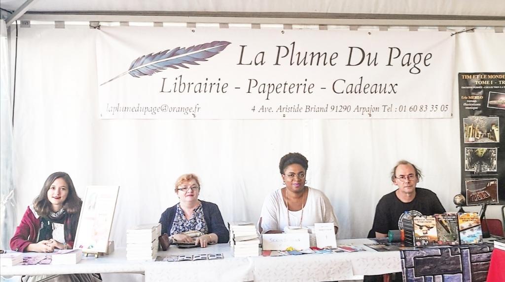 Auteurs en dédicace librairie Arpajon