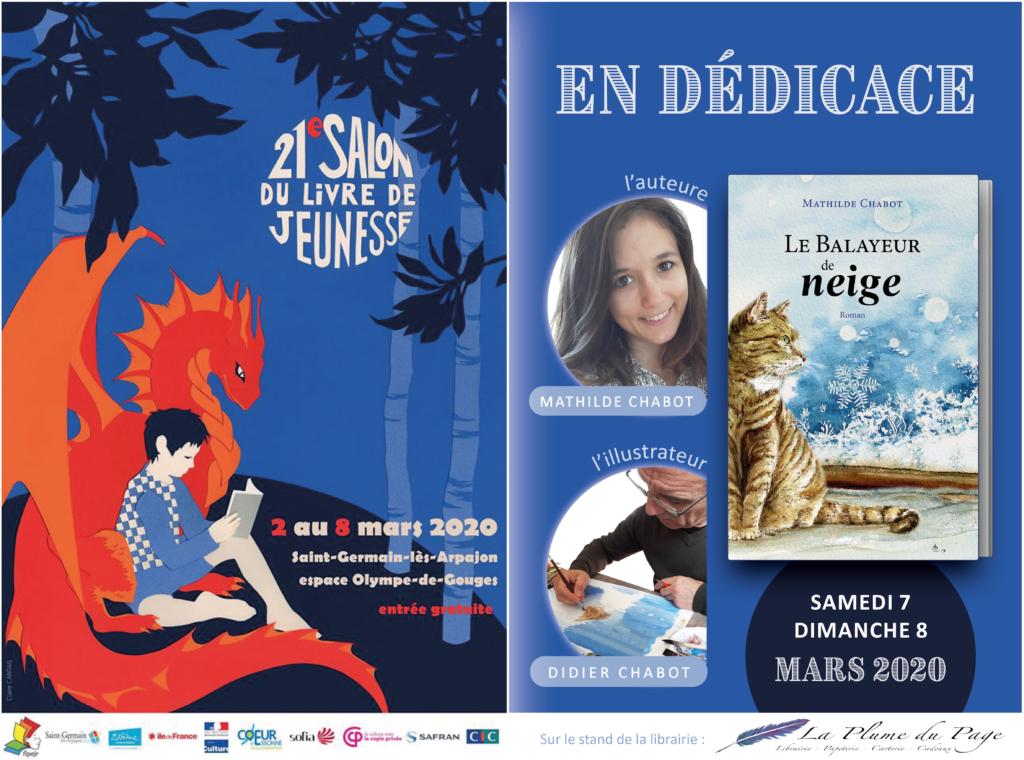 Affiche Salon du livre de jeunesse de Saint-Germain-lès-Arpajon