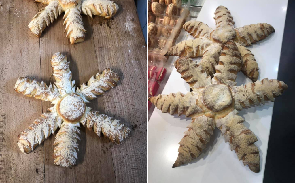 Pain flocon de neige boulangerie Pascal Gautier